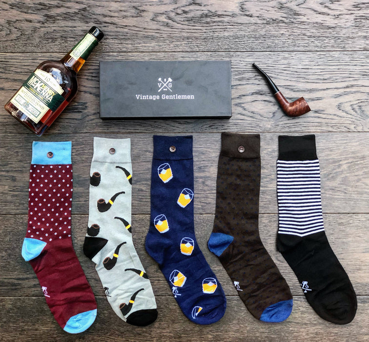 5 pairs of mens socks