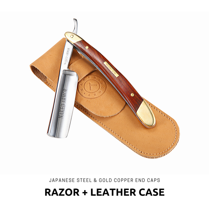 Straight Razor Set | Gift Box | Shave Set