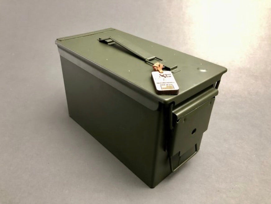 50 Caliber Ammo Can Cigar Humidor