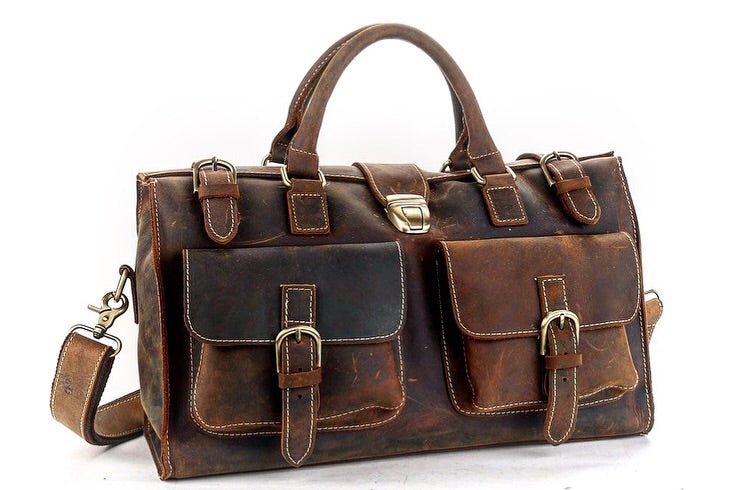 Women's Handmade Vintage Travel Bag