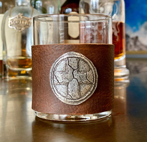 cross molded whiskey glasses