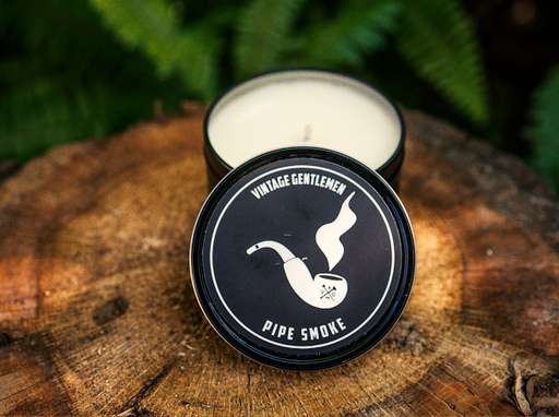 pipe smoke soy candle