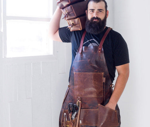 Handcrafted Leather Apron