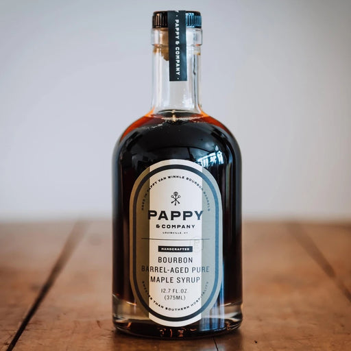 Pappy And Co Bourbon Barrel Aged Maple Syrup