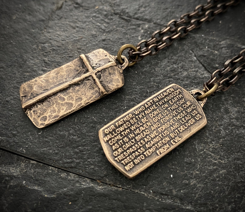 the lords prayer necklace