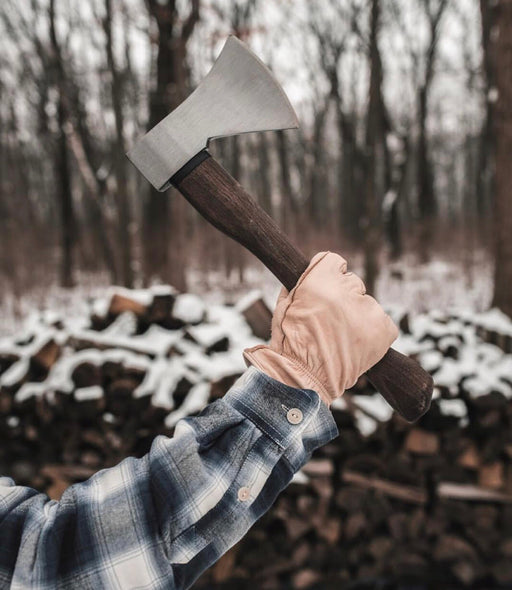 Hickory Wood Hatchet