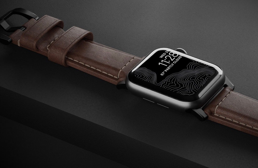 usa leather apple watch strap