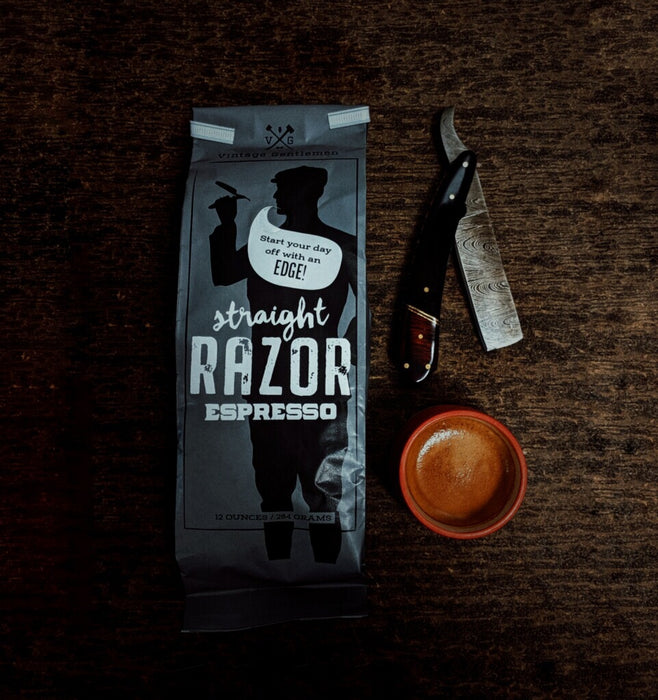 """Straight Razor"" Espresso Bean Coffee"