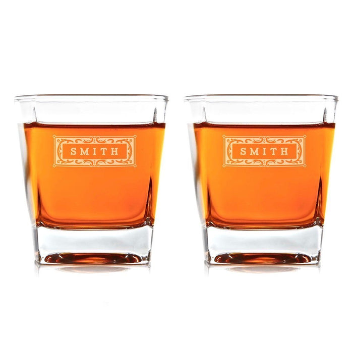 Personalized Whiskey Glasses