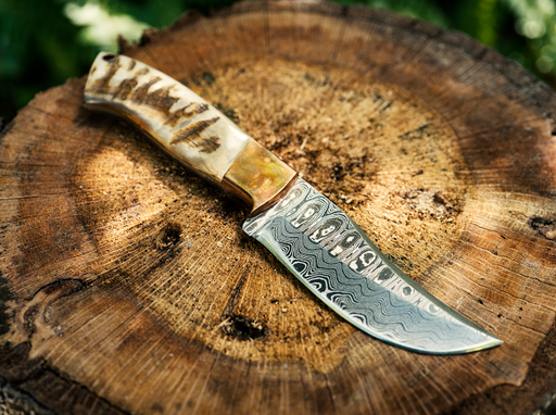 rams horn knife