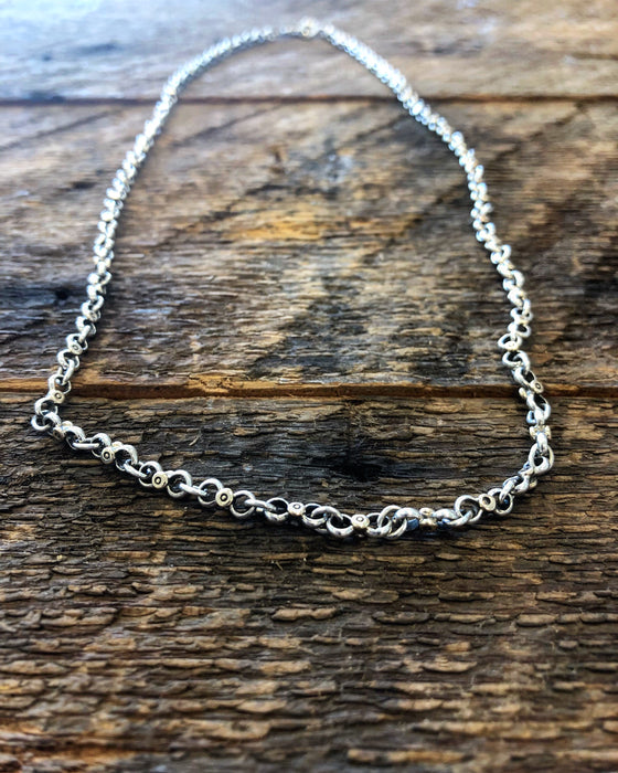 mens 14kt gold chain necklace