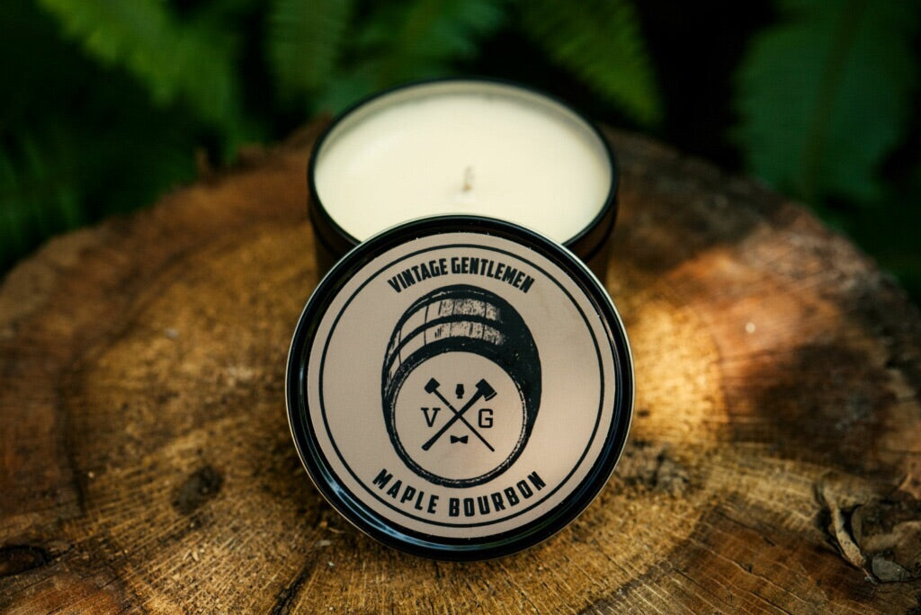 """Maple Bourbon"" Soy Candle"