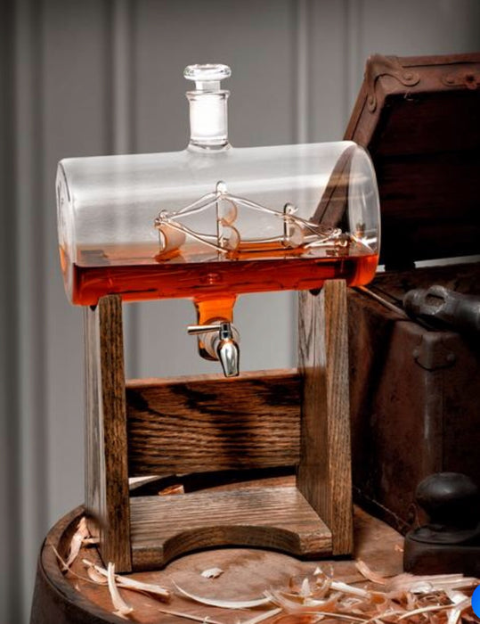 Ship Whiskey Decanter
