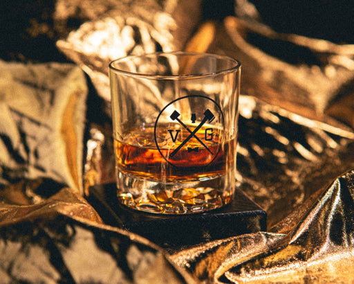 """VG"" Old Fashioned Whiskey Glass"