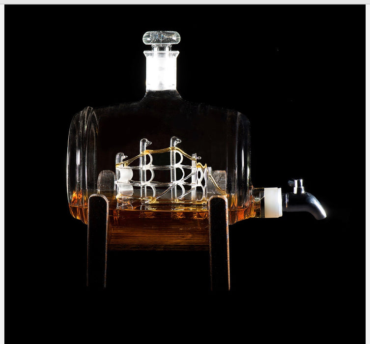 Tomoka Gold Decanter