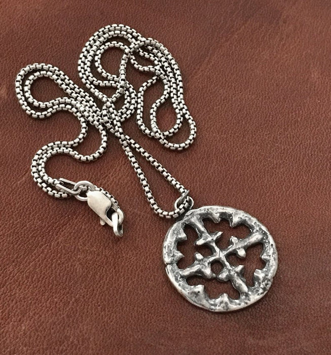 mens cross necklace