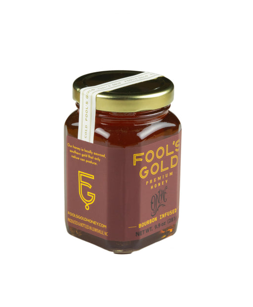 Fools Gold Bourbon Infused Honey