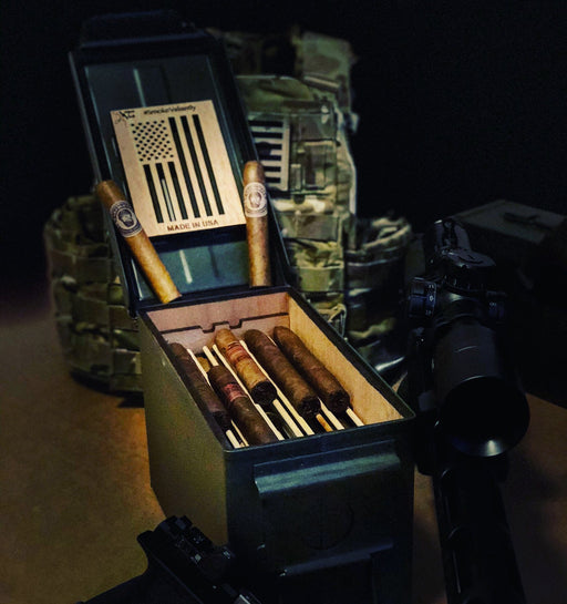 ammo can cigar humidor