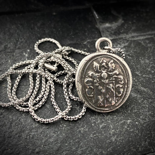waxed seal pendant