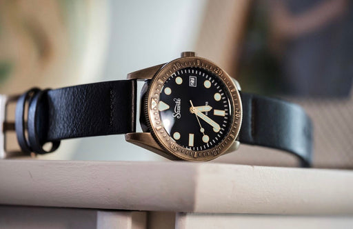 szanto vintage dive watch