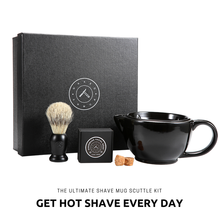 Savannah Scuttle Shaving Set