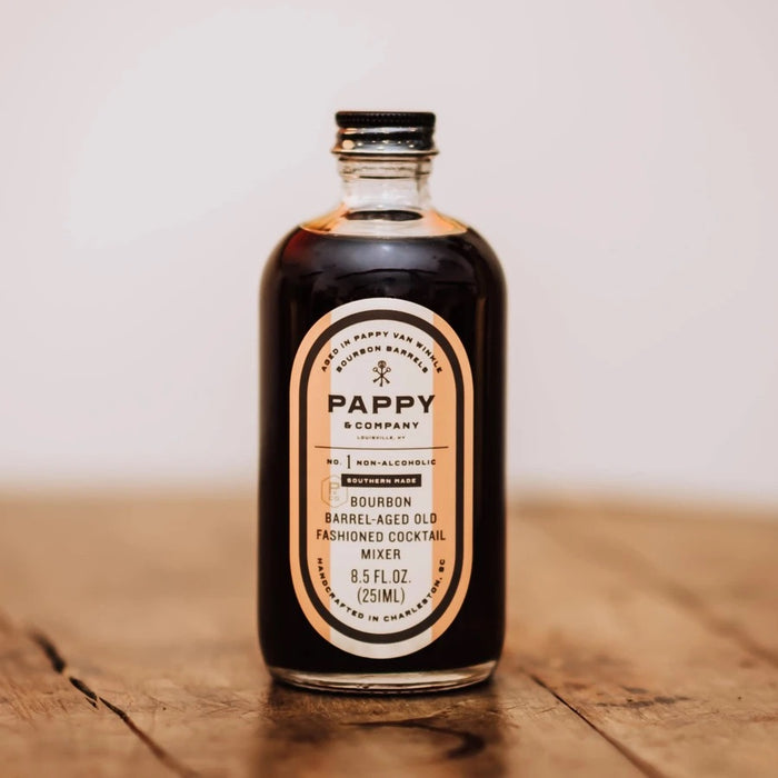 pappy barrel aged old fashioned mix