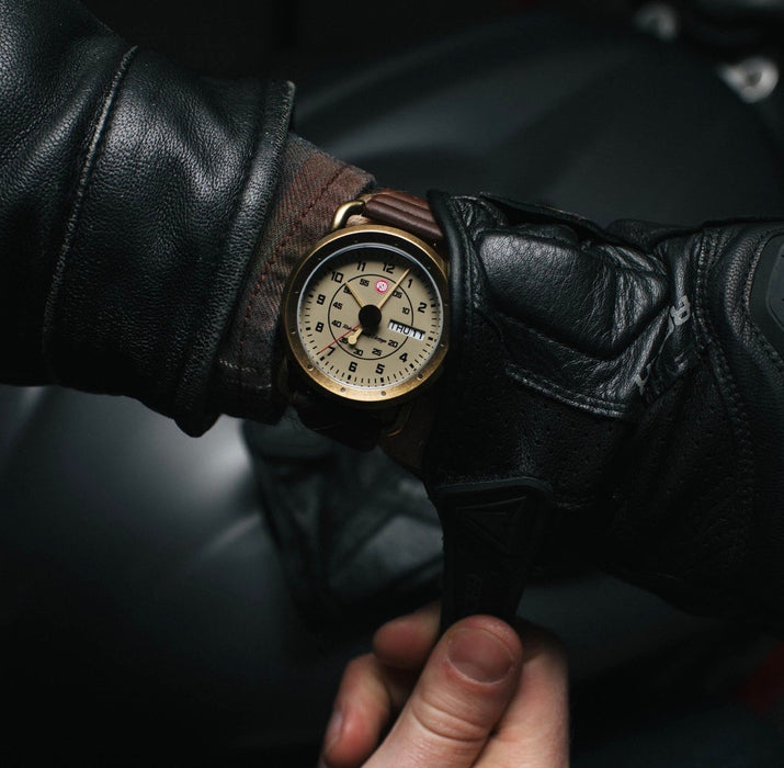 mens vintage style watch