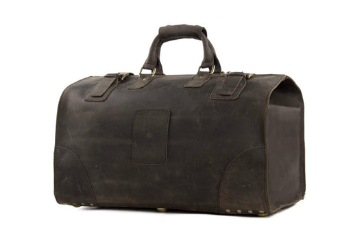 Vintage Leather Duffle Bag Model 3151