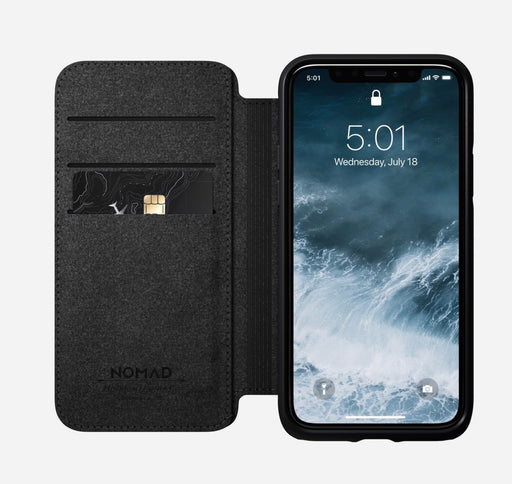 iPhone 11 Pro Rugged Leather Folio