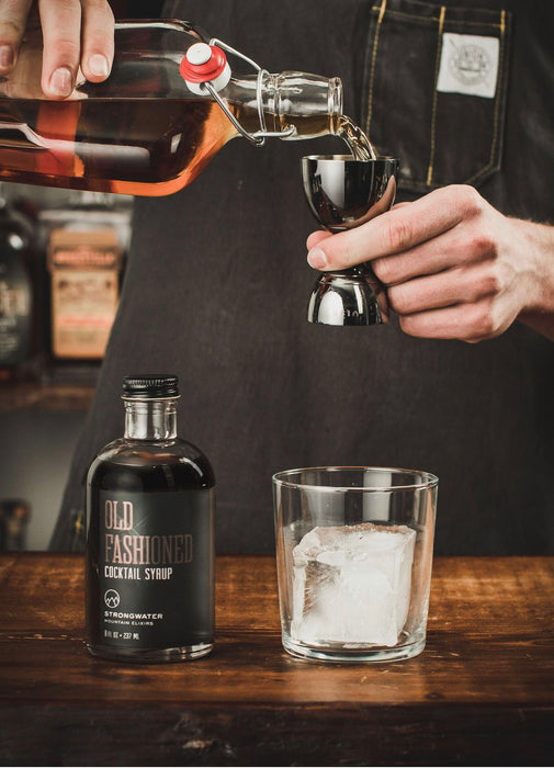 Strongwater Old Fashioned Cocktail Syrup