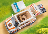 Playmobil Emergency Car With Siren (70050) | Bumble Tree