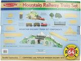 Melissa and Doug 64 Piece Mountain Railway Set