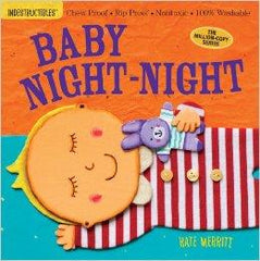 Indestructible Book Baby Night-Night | Bumble Tree
