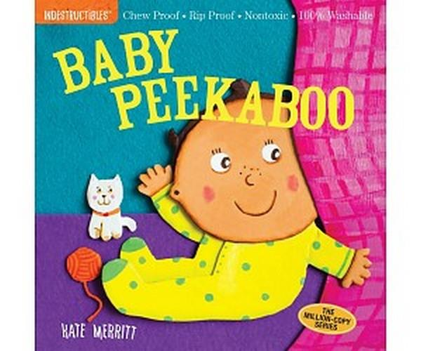 Indestructible Book Baby Peekaboo! | Bumble Tree
