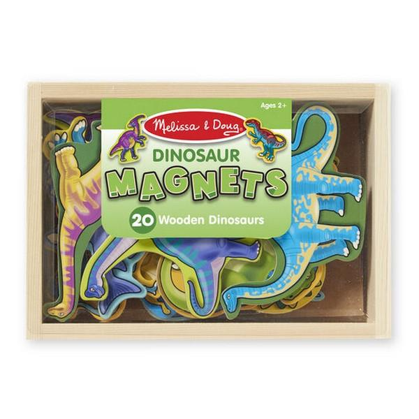 Melissa and Doug Wooden Dinosaur Magnets | Bumble Tree