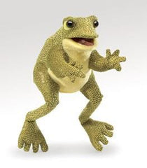 Folkmanis Hand Puppet Funny Frog | Bumble Tree
