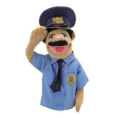 Melissa and Doug Stick Puppet Police Officer | Bumble Tree