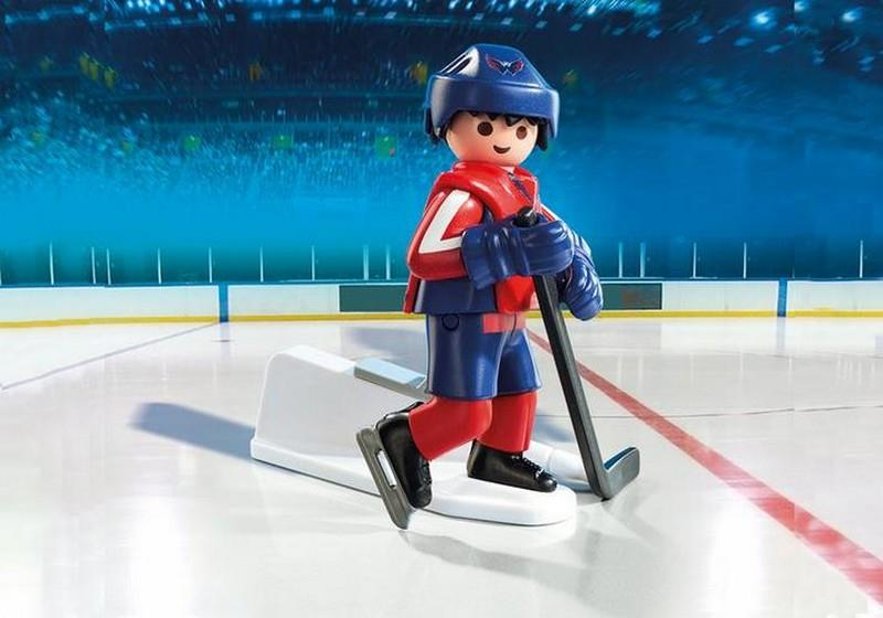 Playmobil NHL Washington Capitals Player (9035) | Bumble Tree