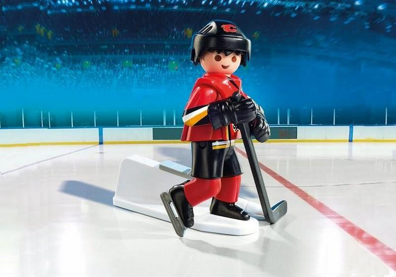 Playmobil NHL Calgary Flames Player | Bumble Tree