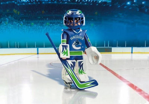 Playmobil NHL Vancouver Canuck Goalie (9026)