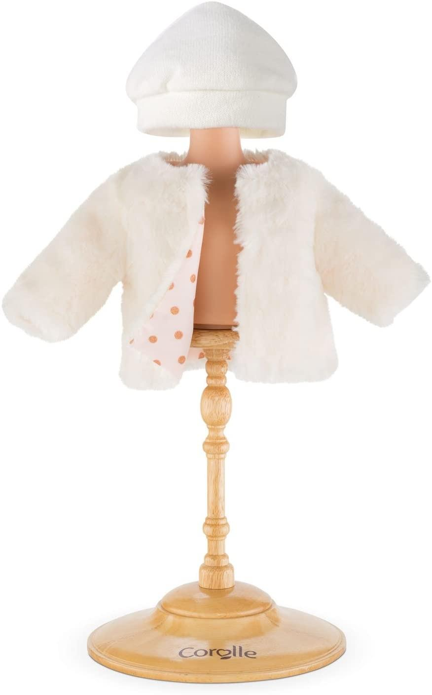 "Corolle 12"" Doll Fashions Snow Treasure Coat 