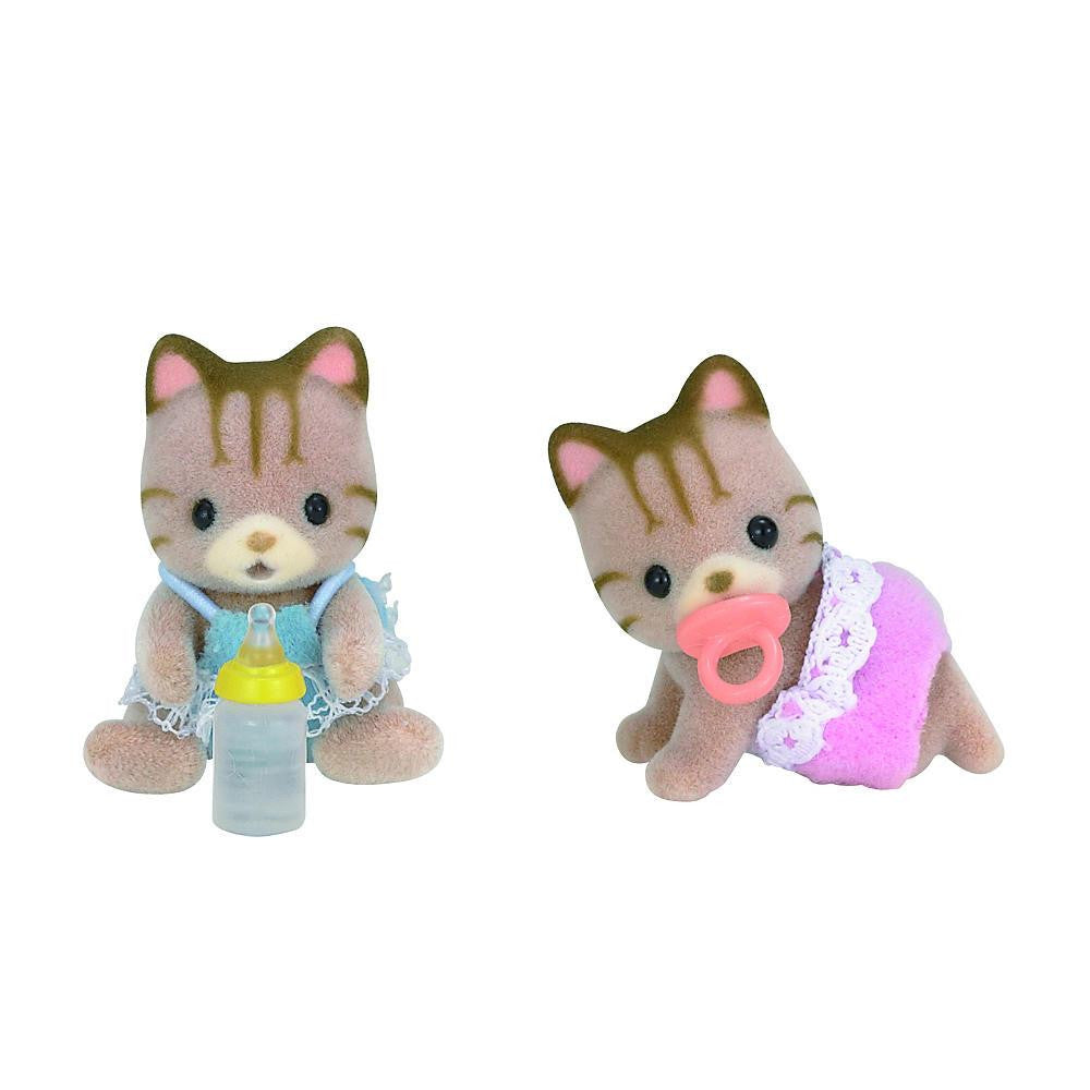 Calico Critters Sandy Cat Twins | Bumble Tree