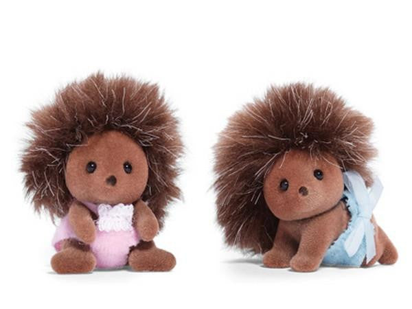 Calico Critters Pickleweeds Hedgehog Twins | Bumble Tree