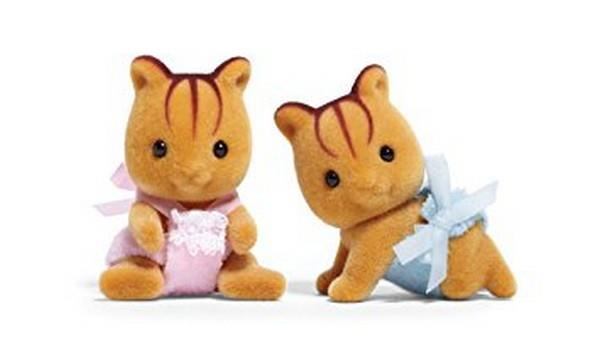Calico Critters Furbanks Squirrel Twins | Bumble Tree