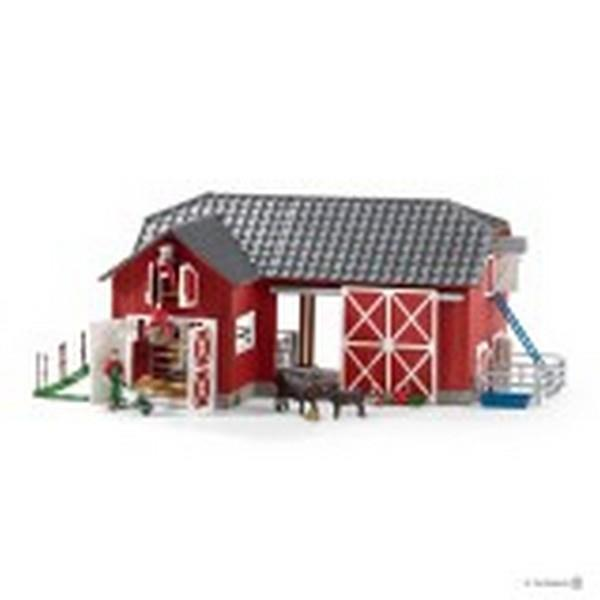 Schleich Large Red Barn (72102) | Bumble Tree