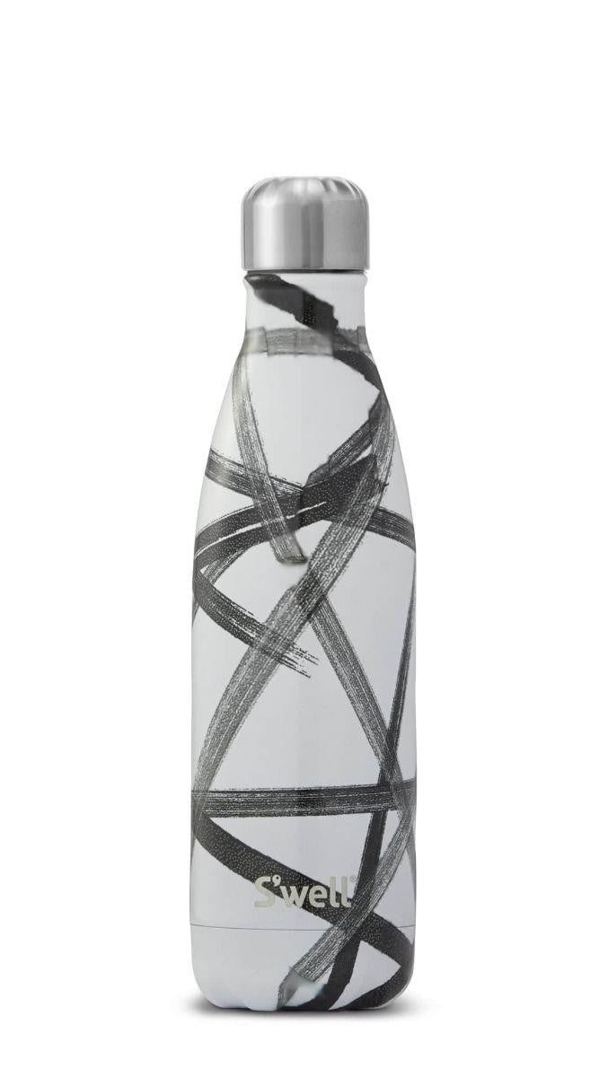 S'well Water Bottle 17oz Black Ribbon | Bumble Tree