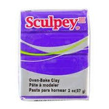 Sculpey III 2 Oz Bar Purple | Bumble Tree