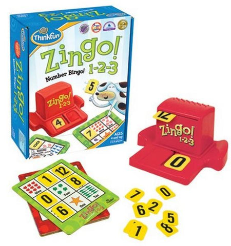 Think Fun Zingo Number Bingo