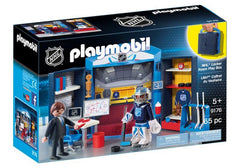 Playmobil NHL Locker Room Play Box (9176) | Bumble Tree