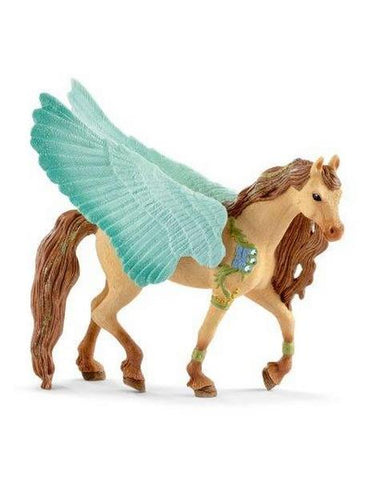 Schleich Decorated Pegasus Stallion (70574)